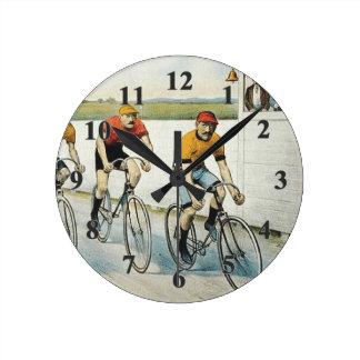 TOP Cycling Old School Wallclocks