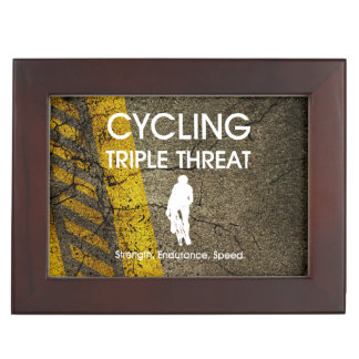 TOP Cycling Triple Threat Keepsake Box