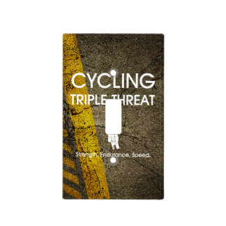 TOP Cycling Triple Threat Light Switch Cover