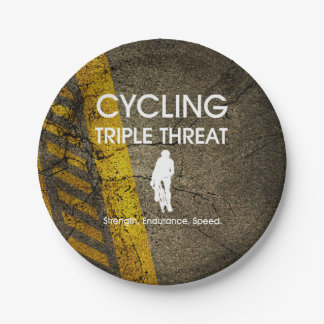 TOP Cycling Triple Threat Paper Plate