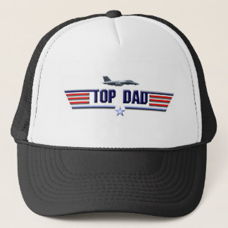 Top Dad Logo Trucker Hat