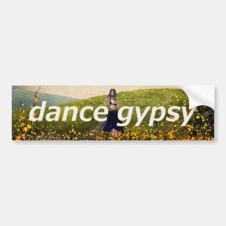 TOP Dance Gypsy Bumper Sticker