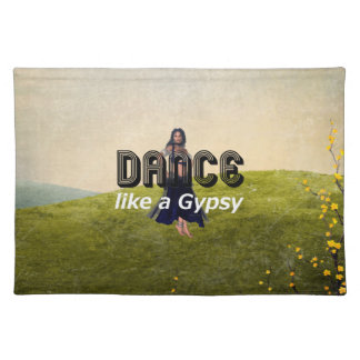 TOP Dance Gypsy Place Mats