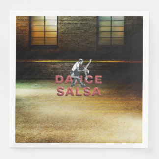 TOP Dance Salsa Paper Napkins