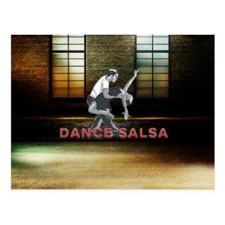 TOP Dance Salsa Postcard