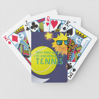 TOP Day Night Tennis Bicycle Playing Cards