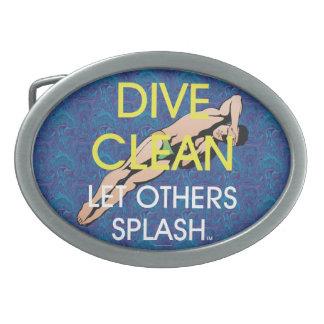 TOP Dive Clean (M) Belt Buckles