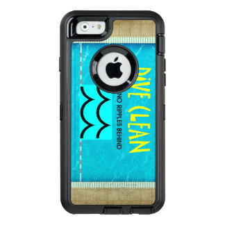 TOP Dive Clean No Ripples OtterBox Defender iPhone Case