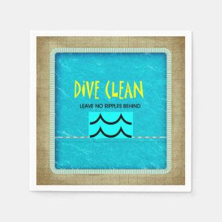 TOP Dive Clean No Ripples Paper Napkin