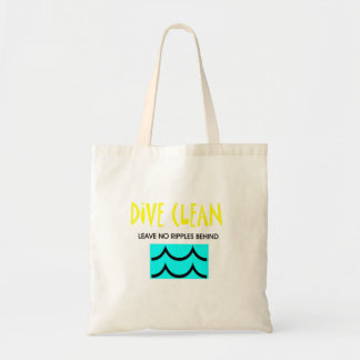 TOP Dive Clean No Ripples Tote Bag