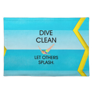 TOP Dive Clean Placemat