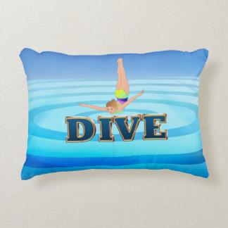 TOP Dive Decorative Pillow