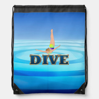 TOP Dive Drawstring Bag