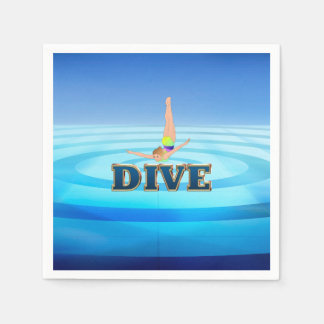 TOP Dive Paper Napkin