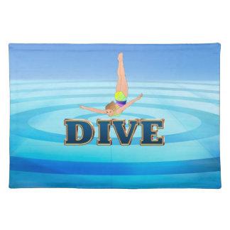TOP Dive Place Mats