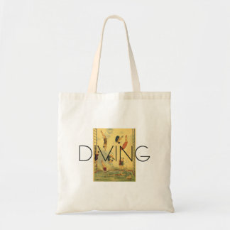 TOP Diving Old School Tote Bag