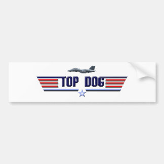 Top Dog Logo Bumper Sticker
