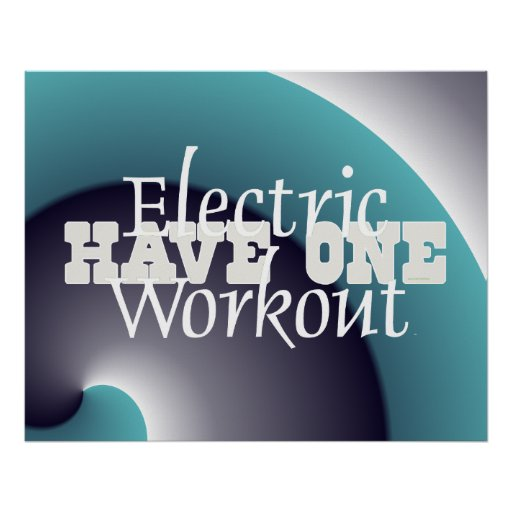 TOP Electric Workout Poster