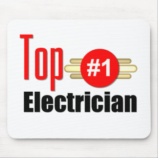 Top Electrician Mouse Pad