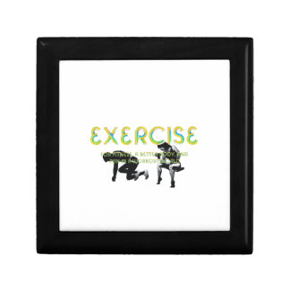 TOP Exercise Slogan Gift Box