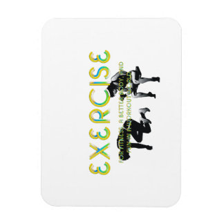 TOP Exercise Slogan Magnet