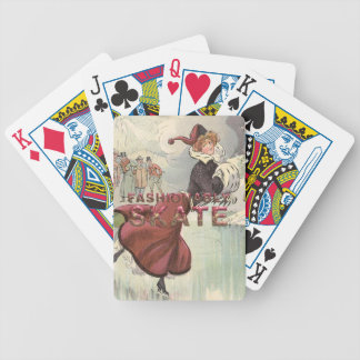 TOP Fashionably Skate Bicycle Playing Cards