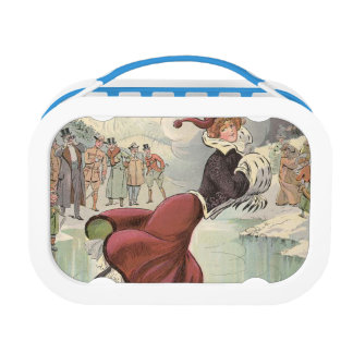 TOP Fashionably Skate Lunch Box
