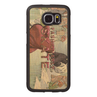 TOP Fashionably Skate Wood Phone Case