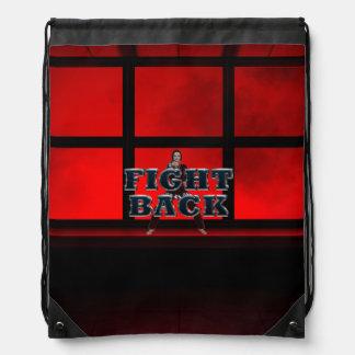 TOP Fight Back Drawstring Bag