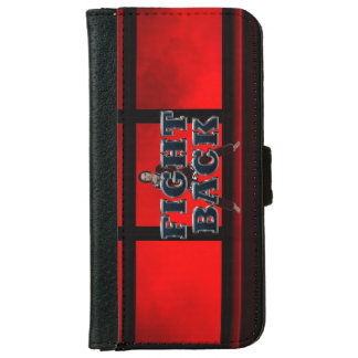 TOP Fight Back iPhone 6 Wallet Case