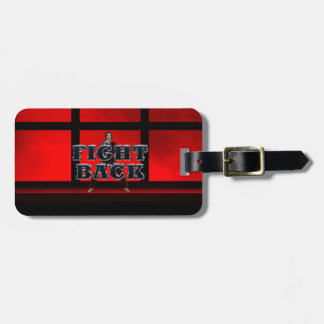 TOP Fight Back Luggage Tag