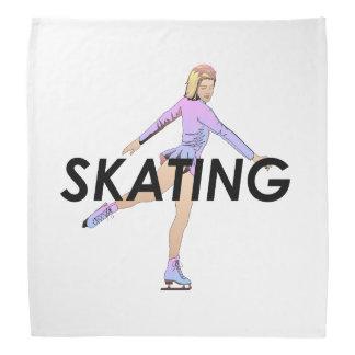 TOP Figure Skating Girl Bandana