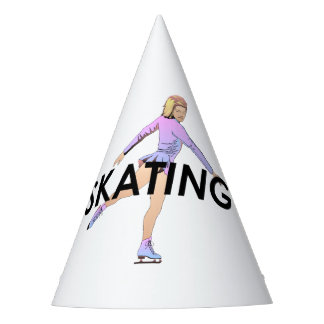 TOP Figure Skating Girl Party Hat