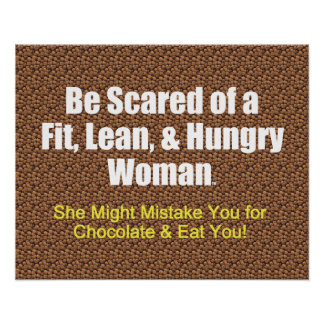 TOP Fit Lean Hungry Poster