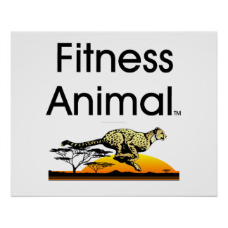 TOP Fitness Animal Posters