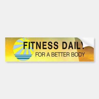 TOP Fitness Daily Bumper Sticker