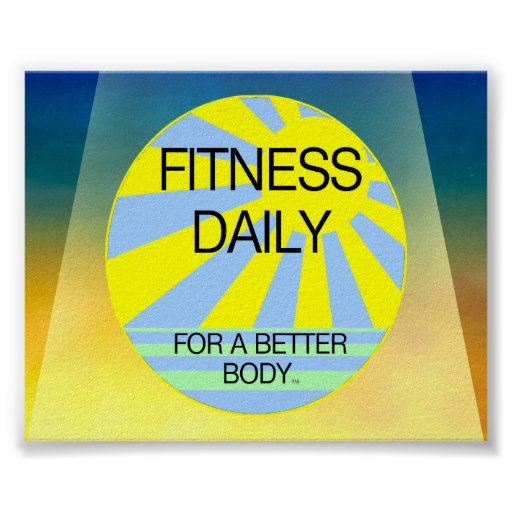 TOP Fitness Daily Posters