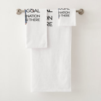 TOP Fitness Goal Bath Towel Set