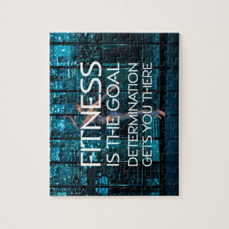 TOP Fitness Goal Jigsaw Puzzle