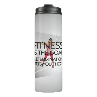 TOP Fitness is the Goal Thermal Tumbler