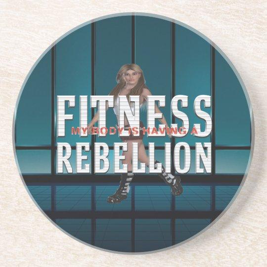 TOP Fitness Rebellion Beverage Coasters