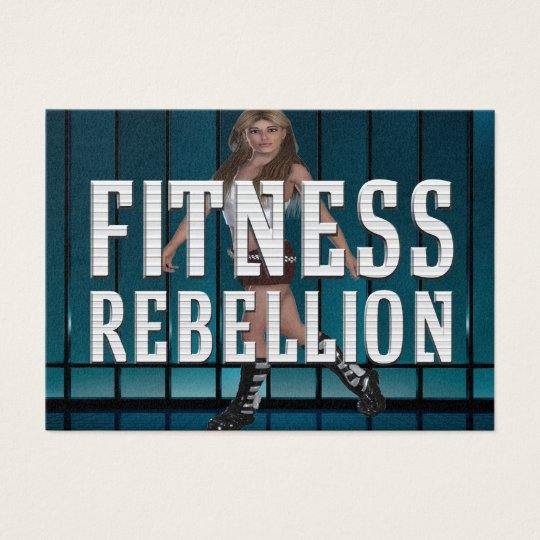 TOP Fitness Rebellion Business Card