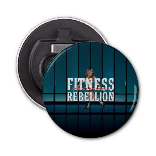 TOP Fitness Rebellion Button Bottle Opener