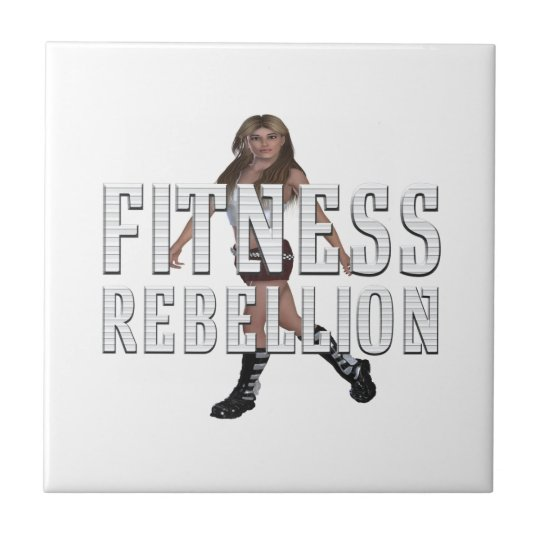 TOP Fitness Rebellion Ceramic Tile