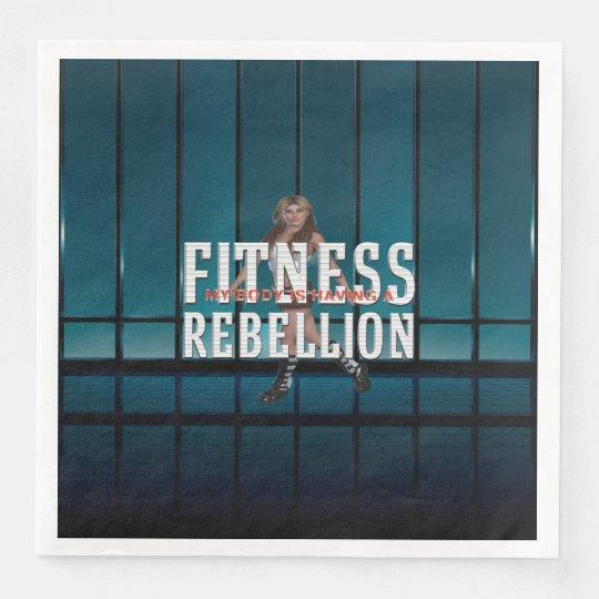 TOP Fitness Rebellion Disposable Napkins