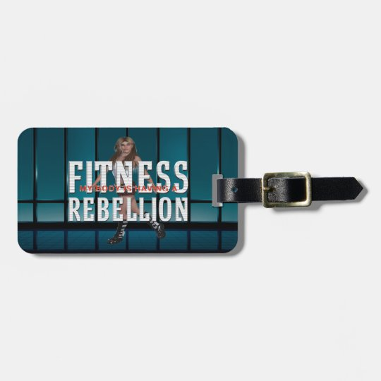 TOP Fitness Rebellion Luggage Tag