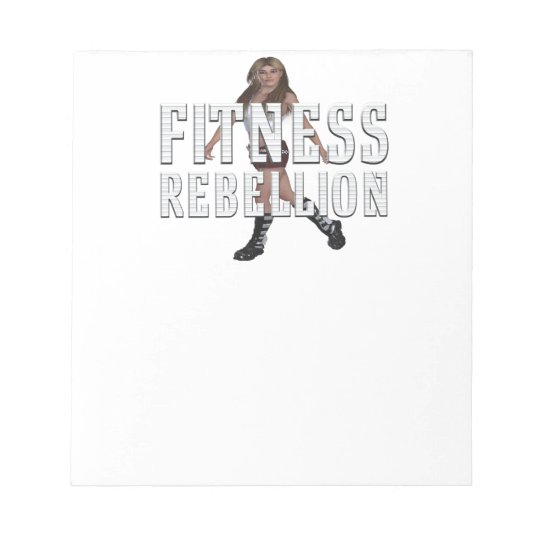 TOP Fitness Rebellion Notepads