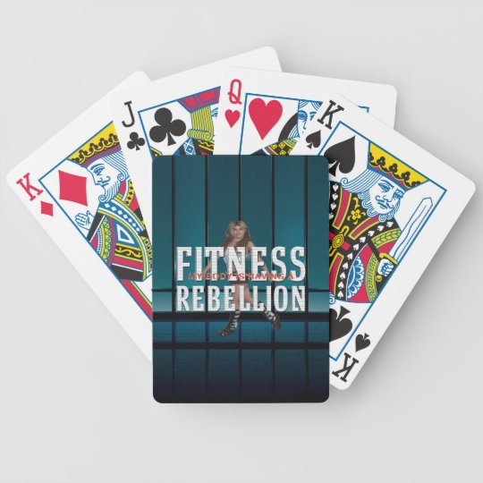 TOP Fitness Rebellion Poker Deck