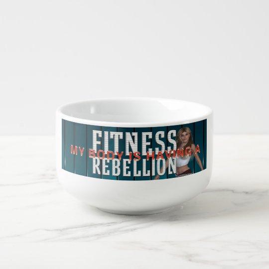 TOP Fitness Rebellion Soup Mug