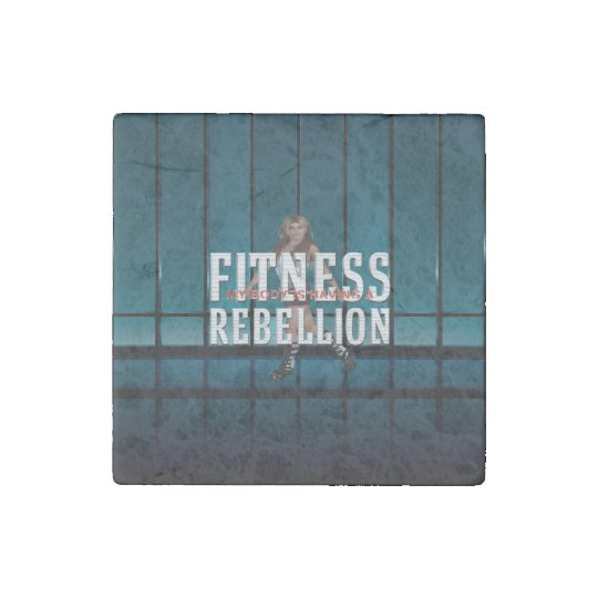 TOP Fitness Rebellion Stone Magnets